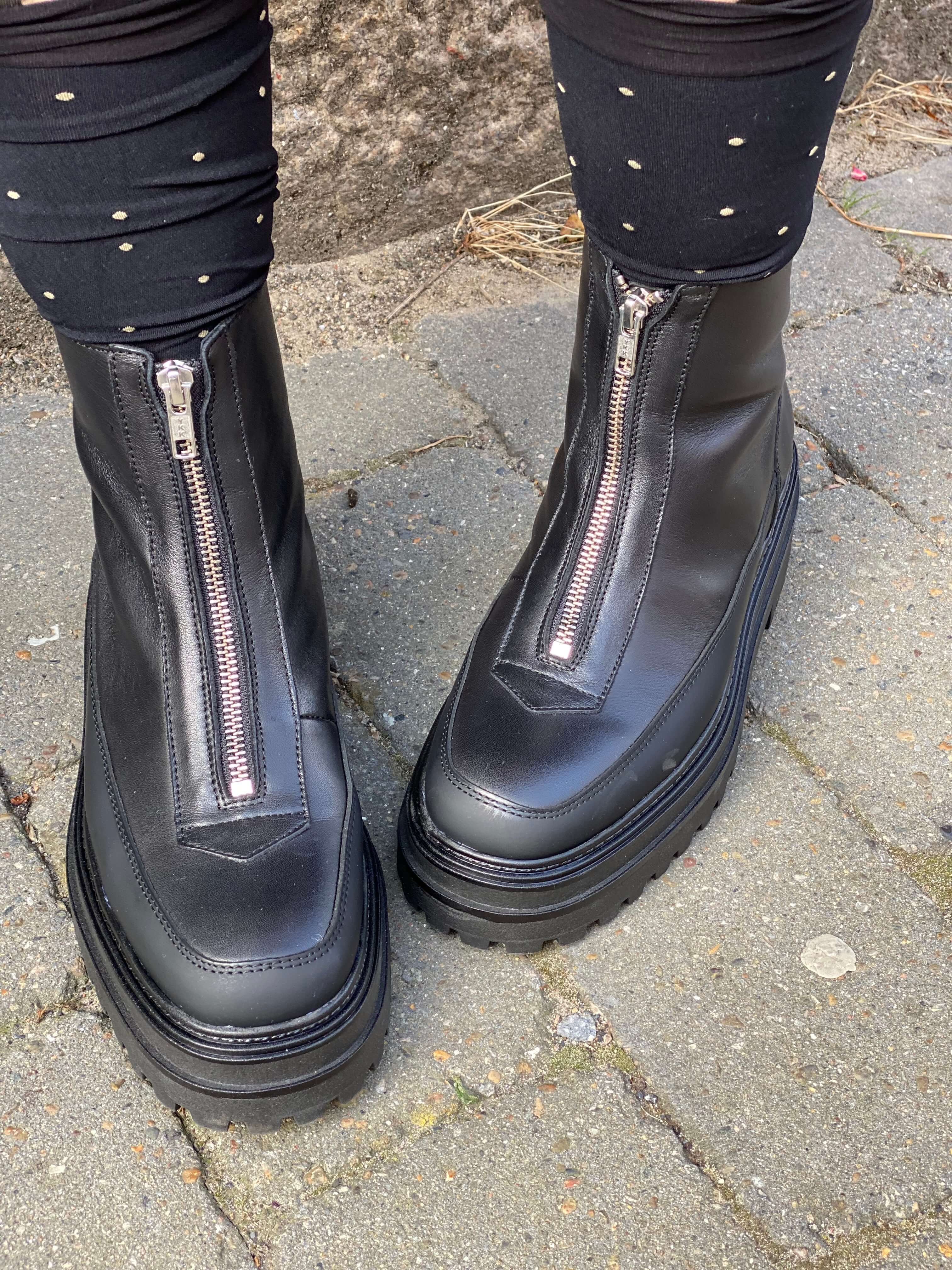 Theese boots are made for walking